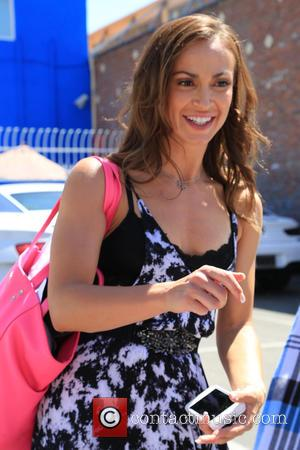 Karina Smirnoff - Celebrities attend 'Dancing With The Stars' rehearsals at DWTS rehearsal studio - Los Angeles, California, United States...