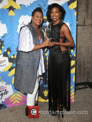 Pamela Edwards Christiani and Gabrielle Union