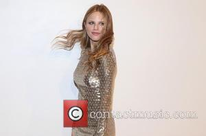 Halston Sage - Estee Lauder launches the Michael Kors Gold Collection Fragrance at The Top of The Standard - New...