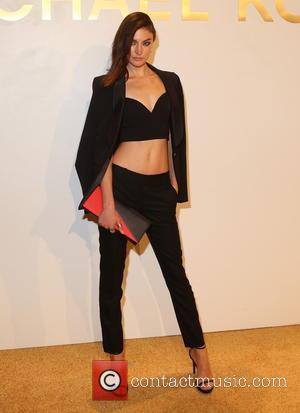 Jacuelyn Jablonski - Estee Lauder launches the Michael Kors Gold Collection Fragrance at The Top of The Standard - New...