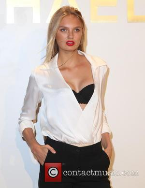 Romee Strigd - Estee Lauder launches the Michael Kors Gold Collection Fragrance at The Top of The Standard - New...