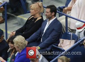 Deborra-Lee Furness , Hugh Jackman - Celebrities attend the 2015 U.S. Open Tennis Championships Men's Final between Novak Jokovic and...