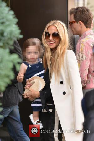 Rachel Zoe and Kaius Jagger Berman