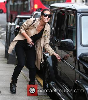 Myleene Klass - Myleene Klass out and about in London with her daughters Ava and Hero - London, United Kingdom...