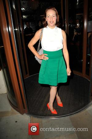 Sarah Cawood - Nikki for JYY.London - Launch Party at Sanctum Soho - Arrivals at Sanctum Hotel Warwick Street -...