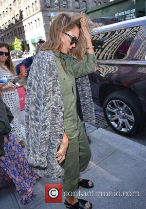 Jessica Alba - Jessica Alba leaving the Trump Soho New York Hotel in Manhattan - New York City, New York,...