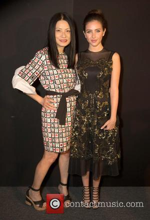 Vivienne Tam and Ryan Newman