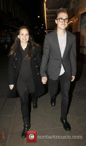 Tom Fletcher , Giovanna Falcone - Photograph 51 press night held at the Noel Coward Theatre - London, United Kingdom...