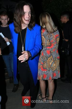 Ozzy Osbourne - Sharon Osbourne and Ozzy Osbourne attend Lisa Vanderpump's birthday dinner celebration at Pump in West Hollywood -...