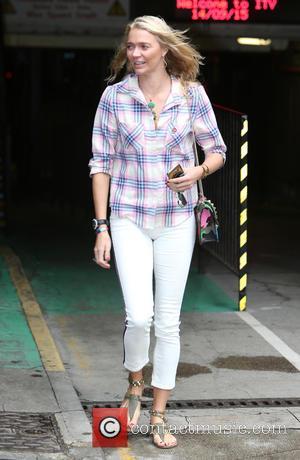 Jodie Kidd - Jodie Kidd outside ITV Studios - London, United Kingdom - Monday 14th September 2015