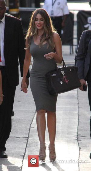 Sofia Vergara - Sofia Vergara at ABC studios for Jimmy Kimmel Live! at jimmy kimmel - Los Angeles, California, United...