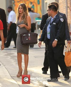 Sofia Vergara - Sofia Vergara seen arriving at ABC studios for Jimmy Kimmel Live! at Jimmy Kimmel studio - Los...