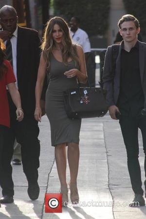 Sofia Vergara - Sofia Vergara at ABC studios for Jimmy Kimmel Live! - Los Angeles, California, United States - Monday...