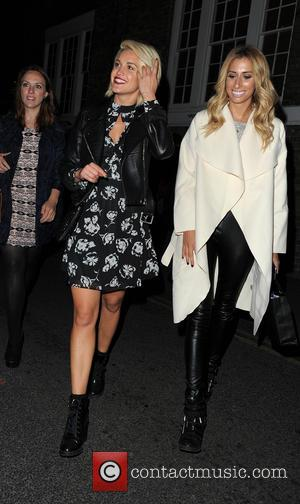 Ashley Roberts , Stacey Solomon - Celebrities attend Comedy Central's FriendsFest - launch party at The Boiler House, Brick Lane....