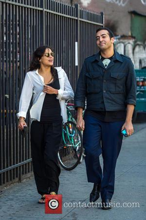 Michelle Rodriguez - Michelle Rodriguez out and about in Soho with a male companion at Soho - NY, New York,...