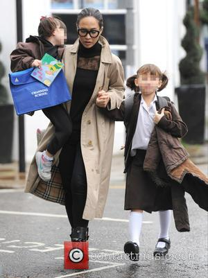 Myleene Klass, Hero Harper Quinn , Ava Bailey Quinn - Myleene Klass takes her daughters Hero Harper Quinn and Ava...