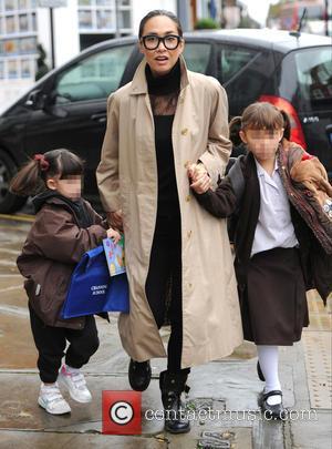 Myleene Klass, Hero Harper Quinn and Ava Bailey Quinn