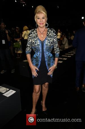 Ivana Trump - New York Fashion Week Spring/Summer 2016 - Dennis Basso - Front Row & Arrivals at New York...