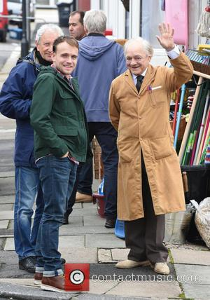 Sir David Jason and James Baxter