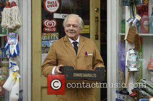 Sir David Jason - Still Open All Hours Filming In Doncaster For A Christmas Special at Filming In Doncaster -...