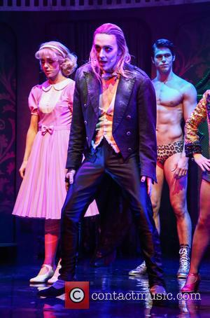 Kristian Lavercombe - Photocall for the latest London production of 'The Rocky Horror Picture Show' at The Playhouse - London,...