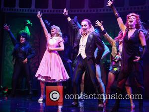 Haley Flaherty, Kristian Lavercombe , Hannah Malekzad - Photocall for the latest London production of 'The Rocky Horror Picture Show'...