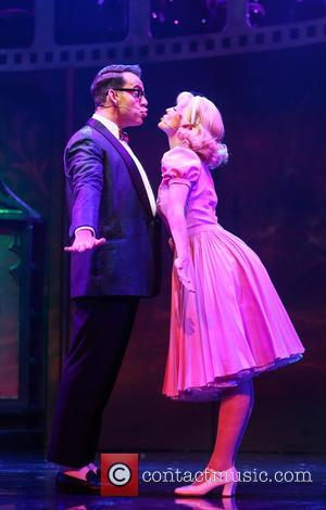Ben Forster , Haley Flaherty - Photocall for the latest London production of 'The Rocky Horror Picture Show' at The...
