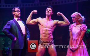 Ben Forster, Dominic Anderson , Haley Flaherty - Photocall for the latest London production of 'The Rocky Horror Picture Show'...