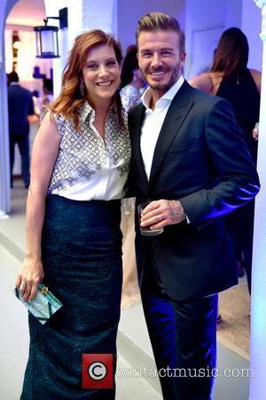 Kate Walsh and David Beckham