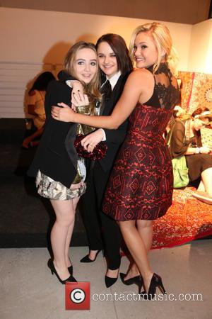 Sabrina Carpenter, Joey King , Olivia Holt - NYFW - Alice and Olivia By Stacey Bendet Presentation - New York,...