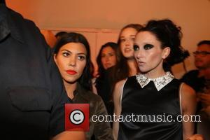 Kourtney Kardashian and Stacey Bendent