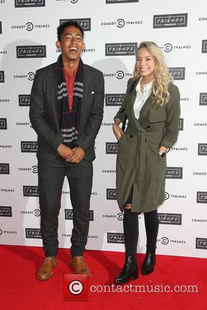 Sacha Parkinson and Jordan Stephens