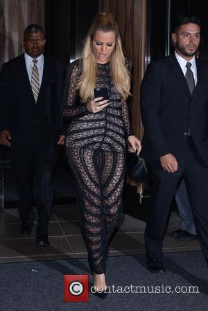 Kourtney Kardashian , Khloe Kardashian - Kourtney Kardashian and sister, Khloe, leaving the Trump Soho New Hotel for a night...