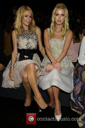 Paris Hilton , Nicky Hilton - New York Fashion Week Spring/Summer 2016 - Dennis Basso - Front Row & Arrivals...