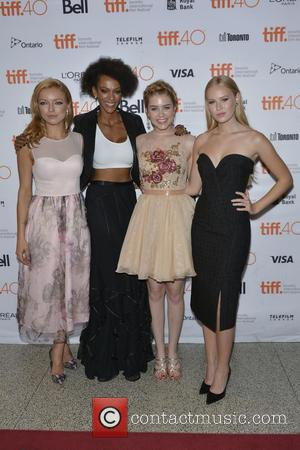 Francesca Eastwood, Judith Shekoni, Gatlin Green and Danika Yarosh