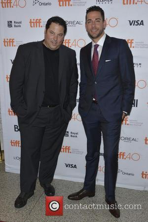 Jack Coleman , Greg Grunberg - 2015 Toronto International Film Festival - 'Heroes Reborn' - Premiere - Toronto, Canada -...