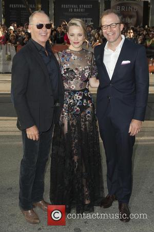 Rachel McAdams and Michael Keaton