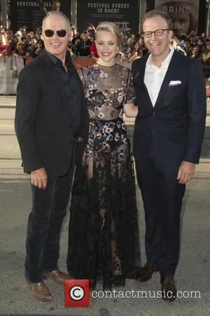 Rachel McAdams , Michael Keaton - Celebrities  attends the Premiere for
