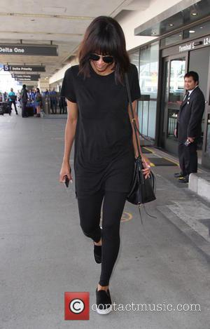 Ciara - Ciara tries to go undetected as she arrives at Los Angeles International Airport alone after returning from New...