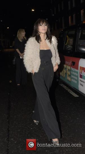 Cara Santana - Jesse Metcalfe and Cara Santana hailing a cab as they leave the Chiltern Firehouse at w1 -...