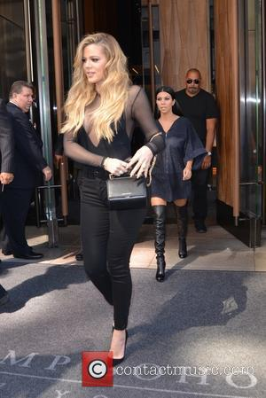Khloe Kardashian , Kourtney Kardashian - Khloe and Kourtney Kardashian leaving their hotel in New York City - Manhattan, New...