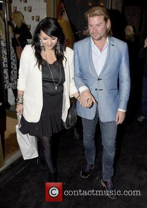 Martine McCutcheon , Phil Turner - Celebrities leave Gary Cockerill's launch of his brand new make-up book at w1 -...