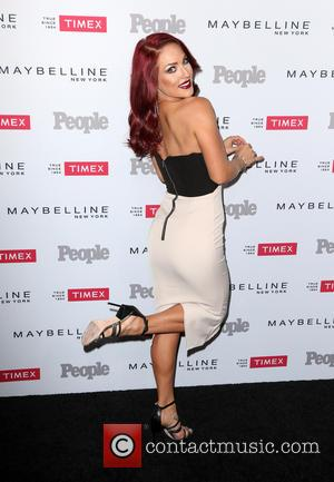 Sharna Burgess - People magazine's 'Ones to Watch' Party - Arrivals at Ysabel - Los Angeles, California, United States -...