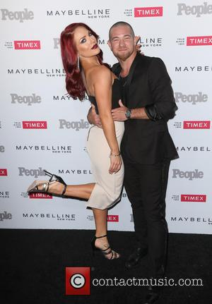 Sharna Burgess , Paul Kirkland - People magazine's 'Ones to Watch' Party - Arrivals at Ysabel - Los Angeles, California,...