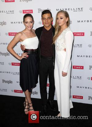 Carly Chaikin, Rami Malek and Portia Doubleday