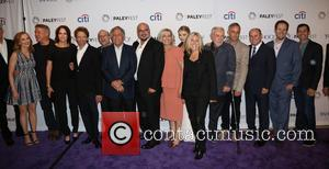 Ted Danson, Marg Helgenberger, William Petersen, Jorja Fox, Jonathan Littman, Jerry Bruckheimer, Les Moonves, Anthony E. Zuiker, Carol Mendelsohn, Elisabeth Harnois, Ann Donahue, Robert David Hall, Wallace Langham, Paul Guilfoyle, David Berman and Jon Wellner