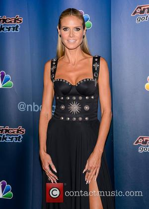 Heidi Klum - America's Got Talent Season Finale at Radio City Music Hall at Radio City Music Hall - New...