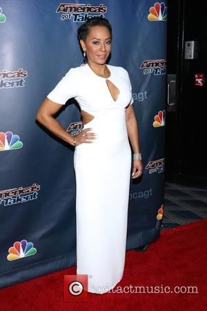 Melanie Brown - 'America's Got Talent' Post Show Red Carpet at Radio City Music Hall at Radio City Music Hall...