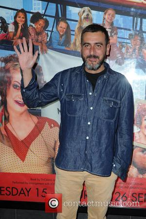 Chris Gascoyne - Celebrities at The Opera House Manchester for the Press Night of the family musical 'Annie' - Manchester,...