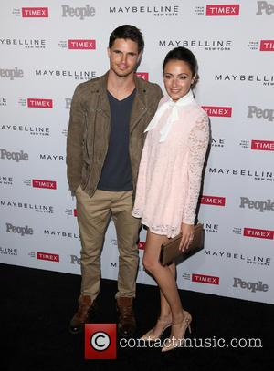 Robbie Amell , Italia Ricci - The People Magazine 'Ones to Watch' Party - Arrivals at Ysabel - West Hollywood,...